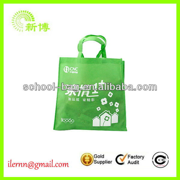 Easy to use shopping non woven tote bag