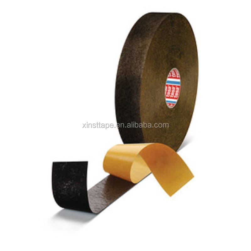 Tesa 50118 PV0 Thick PET fleece tape for cable mounting in automotive interiors