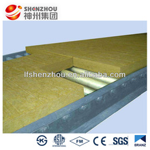 Wall acoustic rockwool insulation / mineral wool board