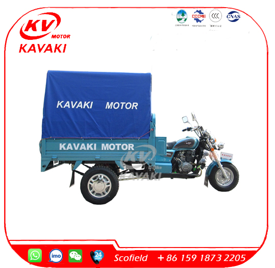 KAVAKI Motor 150CC Cheap Motorized Tricycle