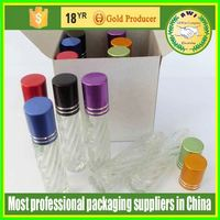 glass roll on bottle graceful perfume wholesale from China