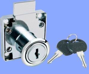 iron zinc alloy Blade drawer lock
