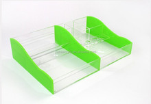 perspex / plexiglass /acrylic make organizer case with compartments