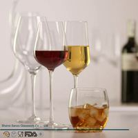 Sanzo Custom Glassware Manufacturer handcraft champagne glass size