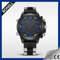 Luxury men stainless steel 5atm water mens watches top brand customized logo wrist watch