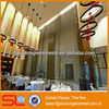 Decorative cascade hanging chain metal curtain