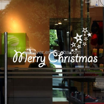 [Alforever]2015 Merry Christmas window sticker