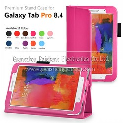 PU leather Smart cover with stand for Samsung Galaxy tab pro 8.4