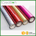 Laser Holographic Hot Stamping Foil Roll Based on PET material for Plastic/PVC/Chair/Decoration/Cup/Accessories Various Colors