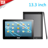 Hot tablet pc 13.3 inch tablet 1920*1080 pixels RK3188 dual core Android 4.4 1G+16G sales tablet pc