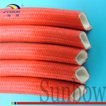 SUNBOW Insulating UL 10mm Red Silicone Rubber Fiberglass Sleeving