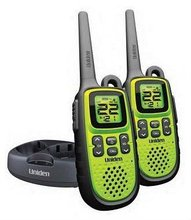 Walkie Talkie Uniden PMR1188-2CK with 8 channels and available in yellow and green colors