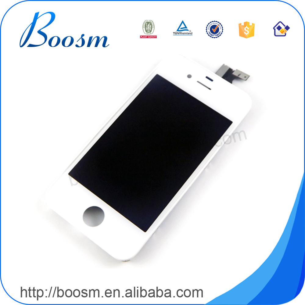 Factory Supplier 100% Test one by one lcd unlocked original lcd display for iphone 4 4s