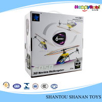 Cheerson 6CH 3D Stunts Fly barless RC Helicopter