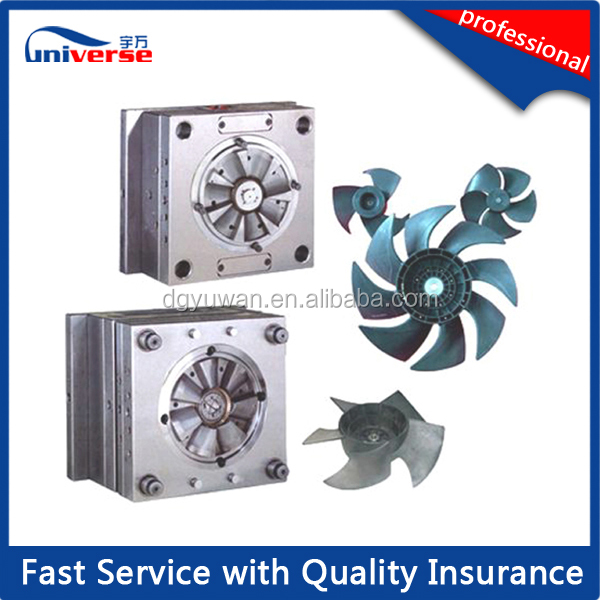 air cooling fan mold / Plastic injection electronic fan mould