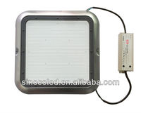125lm/W LED Gas Station Light Meanwell transformer with motion sensor