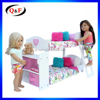 18 Inch Doll Bed Wooden Baby