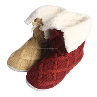 2015 new design fashionable fuzzy italian winter boots