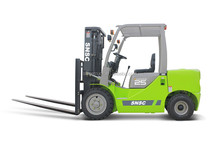 with 3m mast fork lift 2.5t diesel power forklift truck
