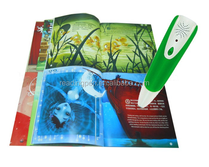 Children Educational Toys Touch Reading Pen with English Books talking pen