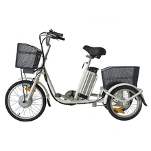 Factory directly sell electric three wheel bicycle bike 3 for adult