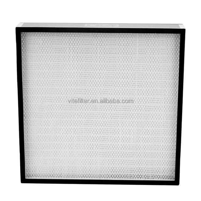 Double face guard glass fibre HEPA filter 99.99% efficiency