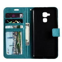 Bracket Style Wallet flip top business case soft cover for HUAWEI glory 5C high quality leather case