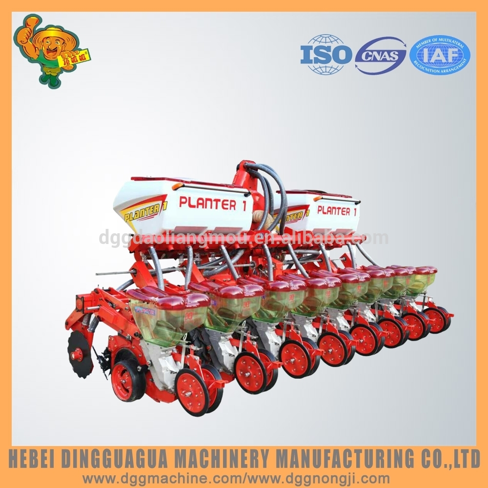 China Agriculture Machine Pneumatic Precision no till 8 Row Corn Seeder/Planter