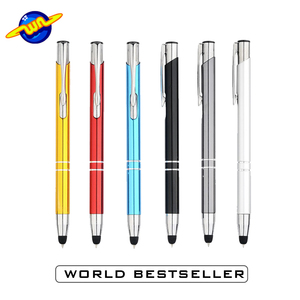 Durable using low price personalize engraving metal stylus pen
