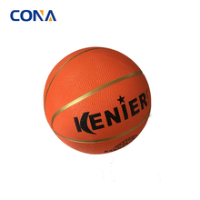 School Smart Exercise Rubber Basketball Mini Rubber Size 7'' Spalding Wholesale Factory Price