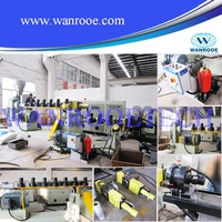 plastic recycling double stage pelletizing line