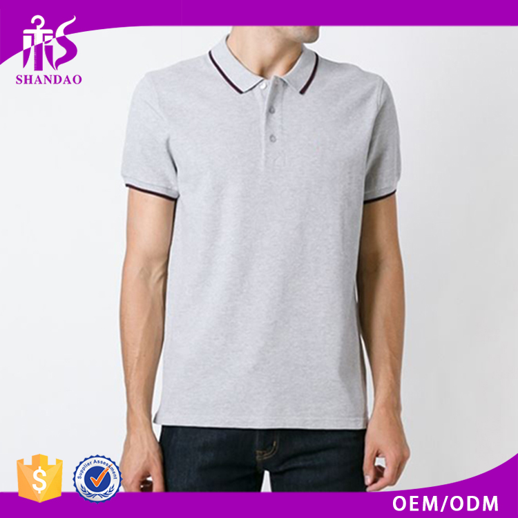 2016 High Quality Guangzhou Shandao Factory 180g 100% Cotton Short Sleeve Casual Men Plain Online Shopping Clothes