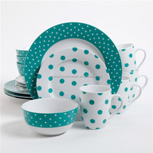 16pcs ceramic dinner set / 16pcs ceramic chinaware / forever 21 wholesale ceramic crockery