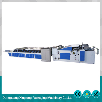 High efficiency semi-automatic card laminating machine price