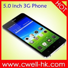 New product 2015 Dual SIM 5.0 inch cheap big screen android phone