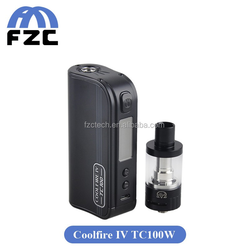 Integrated Charging Safety Protections Innokin Coolfire Iv 100w ...