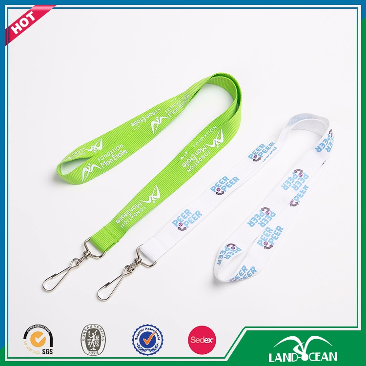 2016 custom top quality lanyard safety lobster clasp