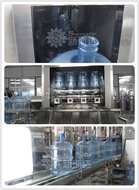 Best selling 5 gallon bottle washing filling capping machine