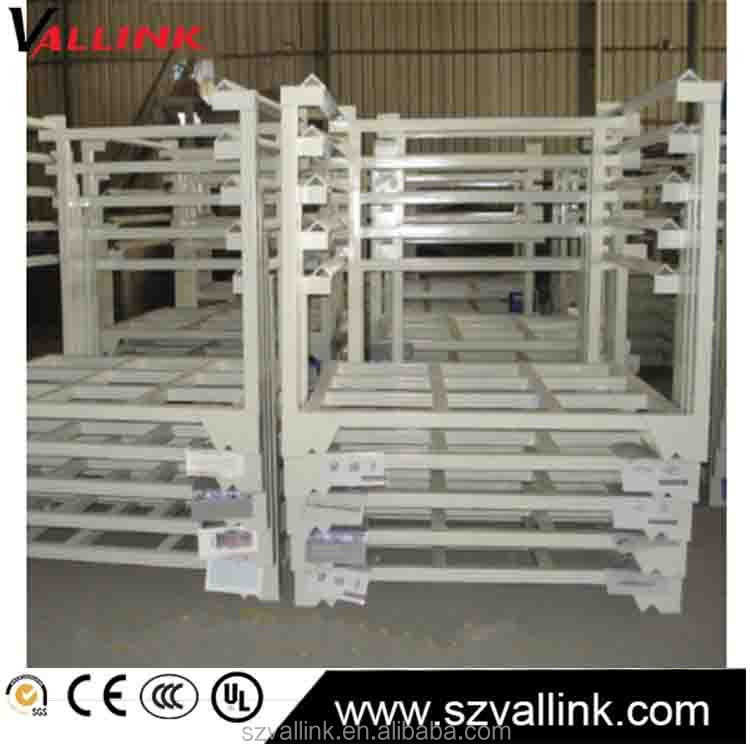 Custom Product Warehouse Steel Plate Storage Stacking Racks