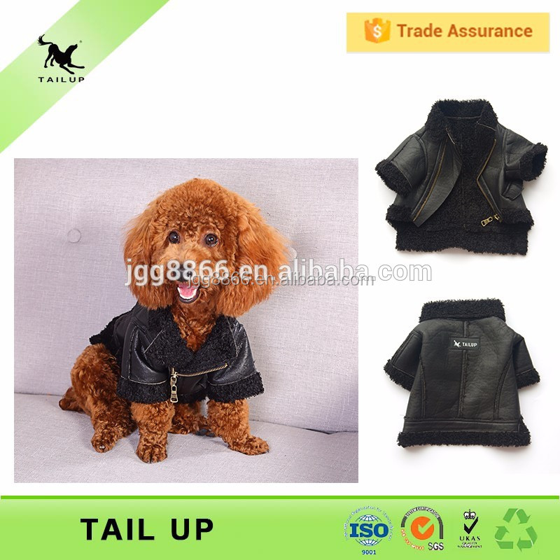 Dogs And Puppies For Sale Wholesale Small Dog PU Dog Jacket
