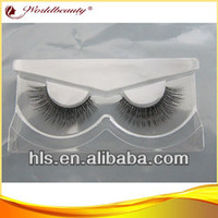 free samples New 2014 luxury mink fur eyelashes/false eyelashes