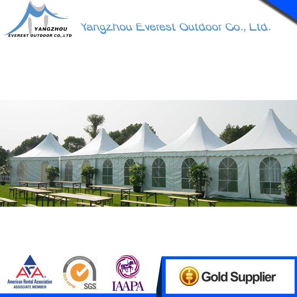 Promotion durable metal pagoda tent