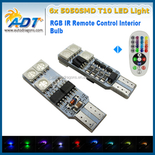 31mm 36mm 39mm 42mm C5W Festoon T10 RGB 5050 LED Car Dome Reading Light Bulb Remote Control led bulbs