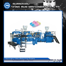new type two color pvc sandal shoe making injection machine