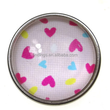 LOVE shape snap button,2015 love wholesale cheap snap buttons with eco-friendly materialsnap button Bracelet jewelry wholesale