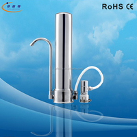 Non-electric counter top Gravity Stainless Steel ultrafiltration ceramic membrane filters
