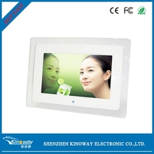 "Acrylic frame transparent 10"" digital photo frame/Multi Function Digital Photo Frame"