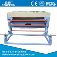 SF1610SC good price leather patch laser engraving and cutting machine