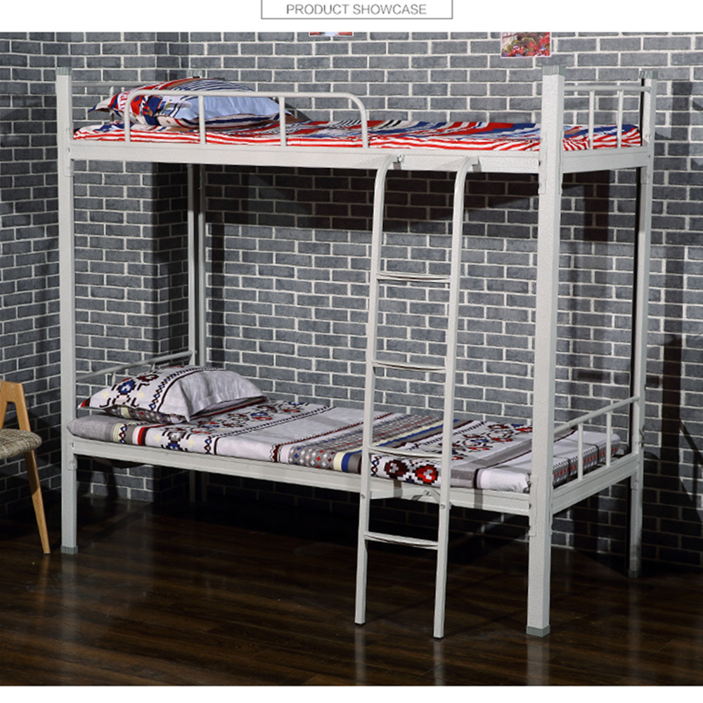 Steel double deck bed - Powder Coated Metal Double Deck Bed Latest Metal Bed Designs Buy Double Decker Metal Bed Frame Metal Frame Bunk Beds Latest Metal Bed Designs Product On