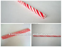 Hot Sale New Unique Christmas Novelty Plastic Bar drinking Straws